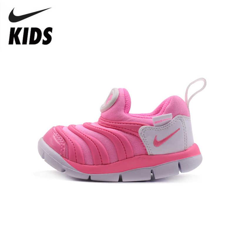 Nike Детский Оригинал Новое поступление детская подушка светильник кроссовки удобные спортивные кроссовки #343938