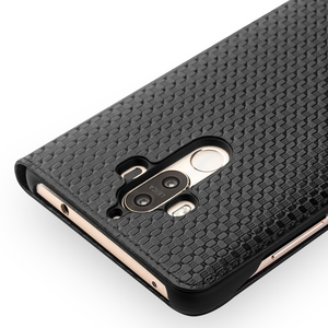 Image 4 - QIALINO Case for Huawei Ascend Mate 9 Luxury Genuine Leather Flip Cover for Huawei Mate9 Sleep Wake Function Smart Case for mt9