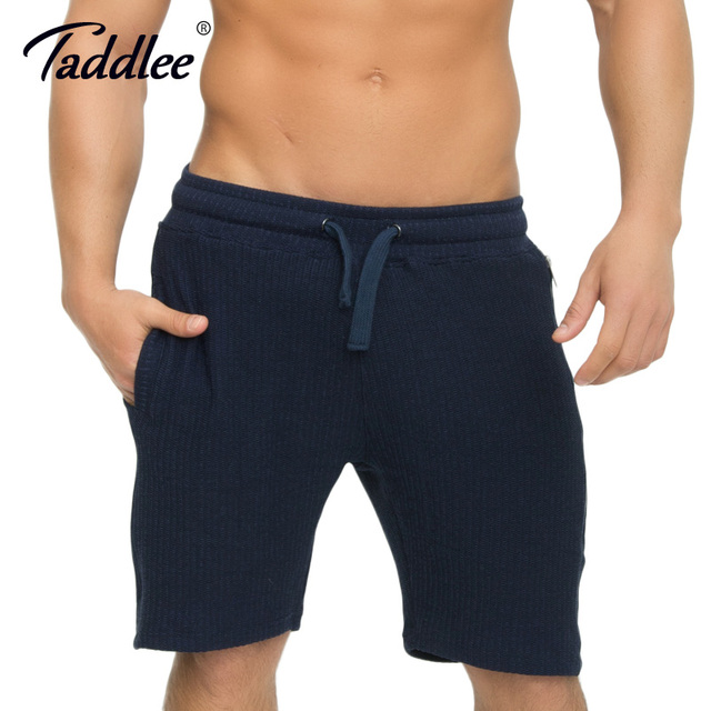 Korte Joggingbroek.Taddlee Merk Rits Mannen Shorts Fitness Jogger Joggingbroek Workout