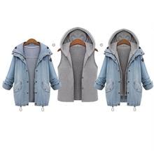 4XL Plus Size Denim Jacket Women Jean Jacket Womens Jaqueta Jeans Bomber Jacket Women Abrigos Mujer Veste En Jean Chaqueta