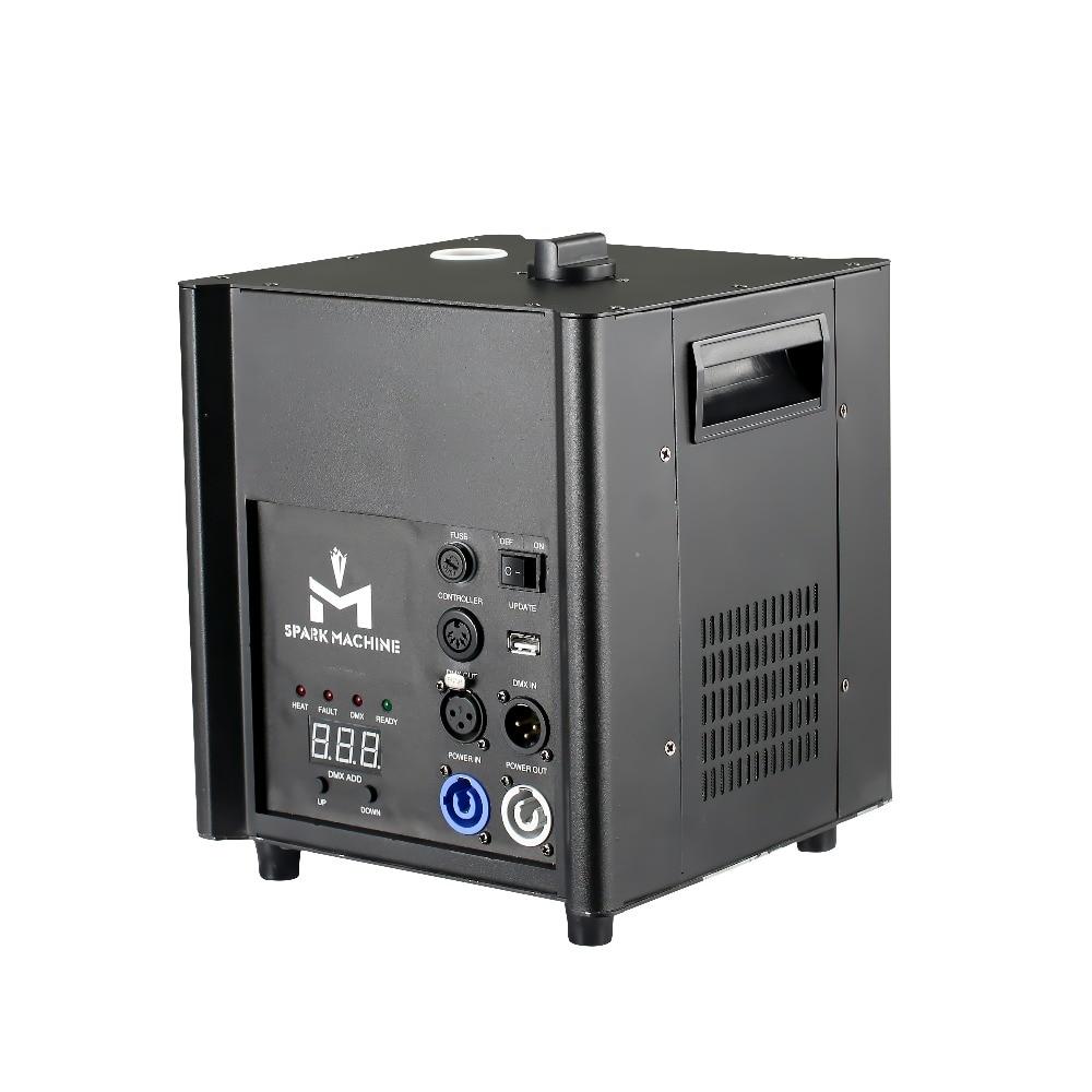 Nova 500 w 2-5 m de altura elétrica sparkler fogo máquina chama fogo frio stage party dj efeito clube iluminação