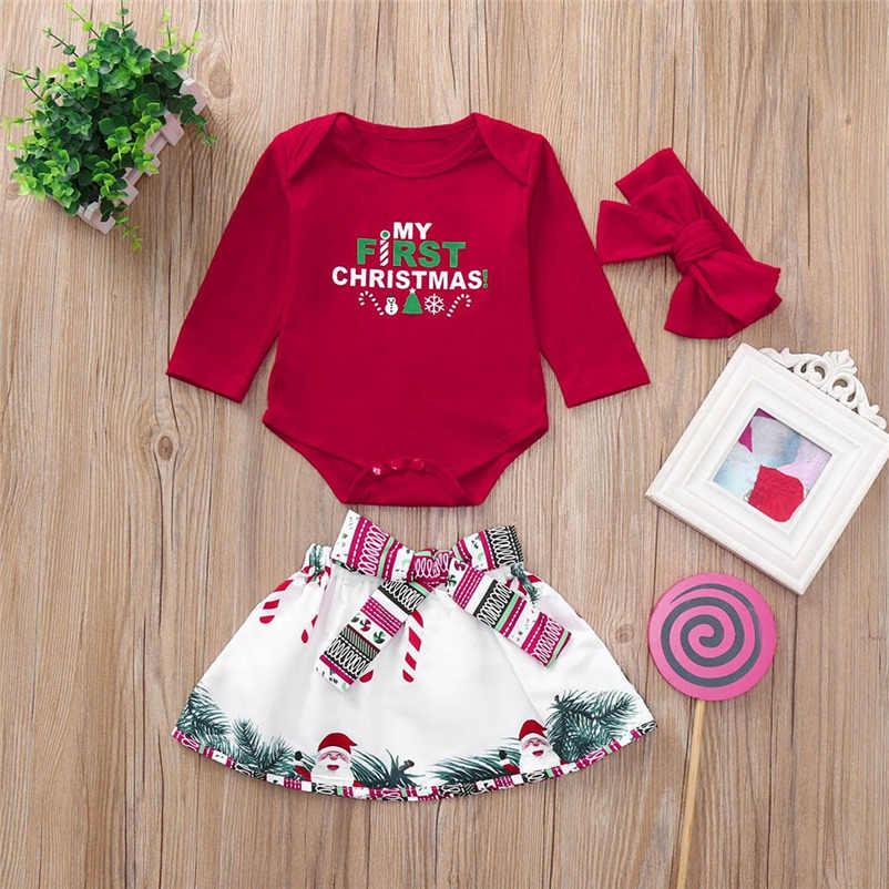 daec7d6aa Ropa kawaii de Navidad para bebés Niñas Ropa de dibujos animados dulce niño  Niños Niñas Ropa