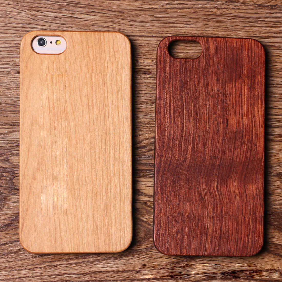 f4ea9cb22c6a2 Etmakit деревянная крышка для iPhone 7 Plus чехол из натурального бамбука Деревянные  телефонные чехлы iPhone 6