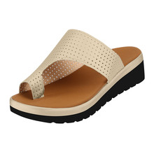 Women's Summer Open Toe Thong Sandals Flip Flop Casual Hollow-out  PU Leather Flat Heel Slippers Sandals Sequins Beach Sandals okabashi womens maui thong flip flop sandals