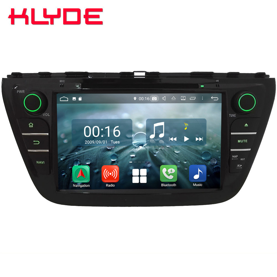 8 Octa Core 4g Android 8.1 4 gb RAM 64 gb ROM Voiture DVD Lecteur Multimédia Stéréo Radio autoradio Pour Suzuki S-Croix SX4 2014-2017