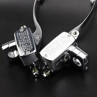 Motorcycle Chrome Brake Master Cylinder Clutch Lever Motorcycle Accessories Fit For Suzuki Intruder 800/1400/1500