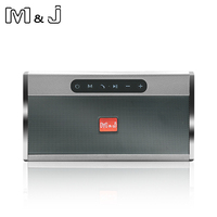 M&J HIFI Portable wireless Bluetooth Speaker Stereo Soundbar TF USB FM Radio Music Subwoofer Column Speakers for Computer Phones