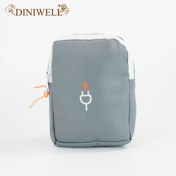 DINIWELL Earphone Wire Organizer Bag Data Line Cables Storage Box Case Container Phone Headphone Protective Holder