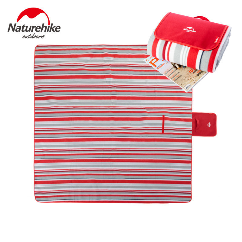 ФОТО Naturehike 200 X 200cm Waterproof Aluminum Film Foldable Outdoor camping picnic mat moisture pad beach mats Tent pad
