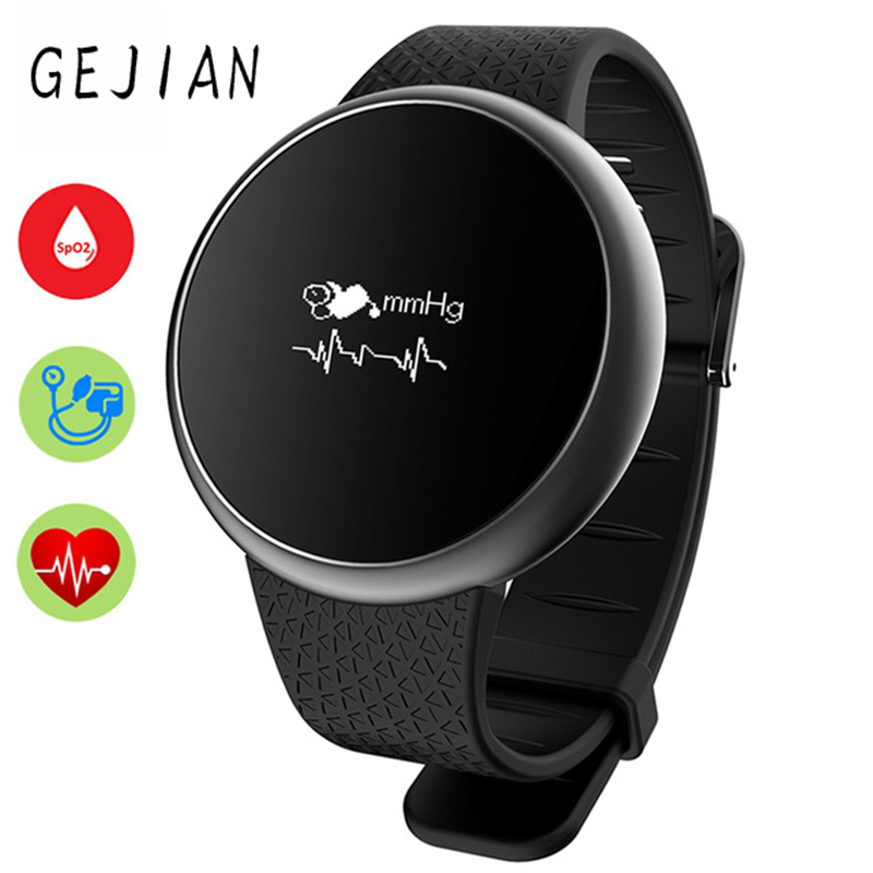 Watches Discreet Gejiansmart Watch A98 Wristwatch Blood Pressure Oxygen Heart Rate Monitor Smartwatch Waterproof Sport Pedometer Fitness Track Let Our Commodities Go To The World Digital Watches