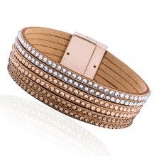 2019 Hot Selling Bracelets & Bangles Women Men Leather Fashion Jewelry Charm Pulseiras Gifts Boyfriend Girlfriend