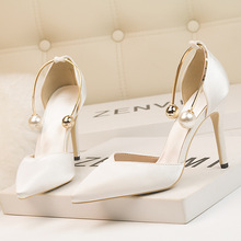 2019 Women Pumps Fashion High Heels Shoes Women Black White Red Shoes Women Bridal Wedding Shoes Ladies zapatos de mujer