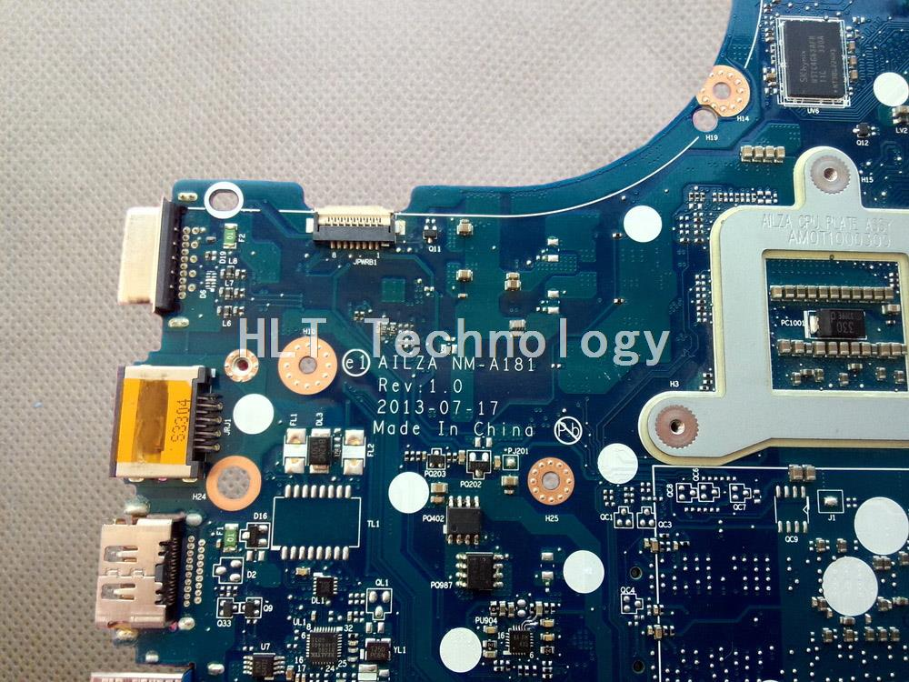 SHELI laptop Motherboard For lenovo ideapad Z510 AILZA NM-A181 GT740M 2gb non-integrated graphics card 100% fully tested