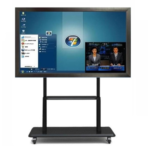 32 47 55 65 70 84inch 3G Tft Lcd Hd Cctv Monitor Display HDMI 120Hz Smart 3D LCD TV Infrared  Touch Screen Kiosk All-in-one PC