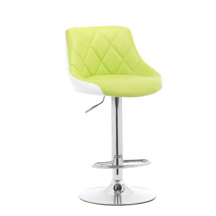 Bright Color Lifting Swivel Bar Chair Rotating Adjustable Height