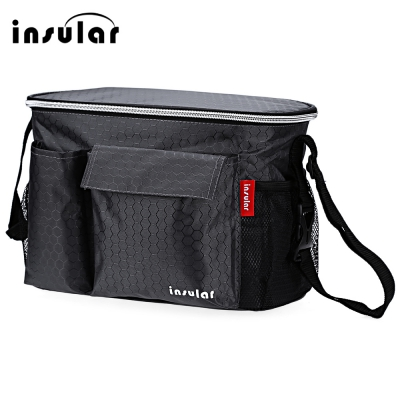 все цены на Mummy MultiFunction Baby Care Food Thermal Insulation Storage Case Large Capacity Handbag hanging baby stroller Accessories