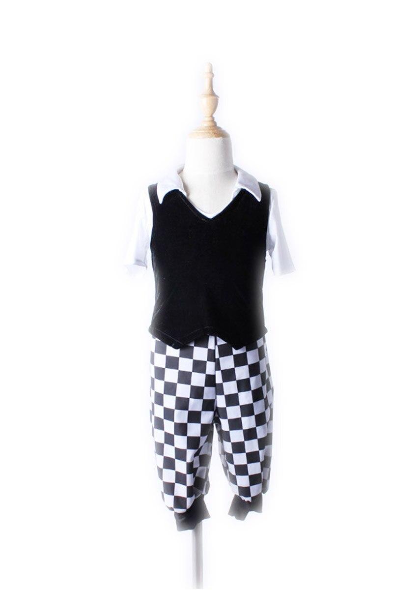 Robe de danse Jazz moderne pour enfants Costumes de danse de scène pour enfants robes de bal et de compétition latine Kinder Jazz Tanz