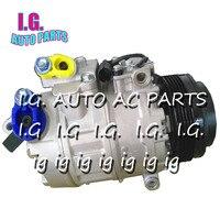 5 Rowki Auto AC Kompresor Dla BMW 320 325 330X3 E83 X5 E53 64526936883 447220-8027 4472208027 6915388 6916232 6936883