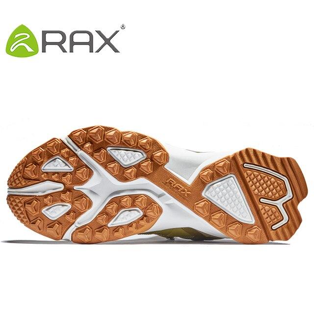 RAX Men Waterproof Hiking Shoes  Outdoor Multi-terrian Cushioning Climbing Shoes Men Lightweight Backpacking Trekking Shoes Men 6