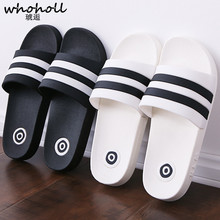 купить Men Shoes Flat Summer Beach Slippers Ribbon Home Slipper Fashion Outdoor Unisex Flip Flop Casual Couple Beach Sandal Brand Shoes дешево