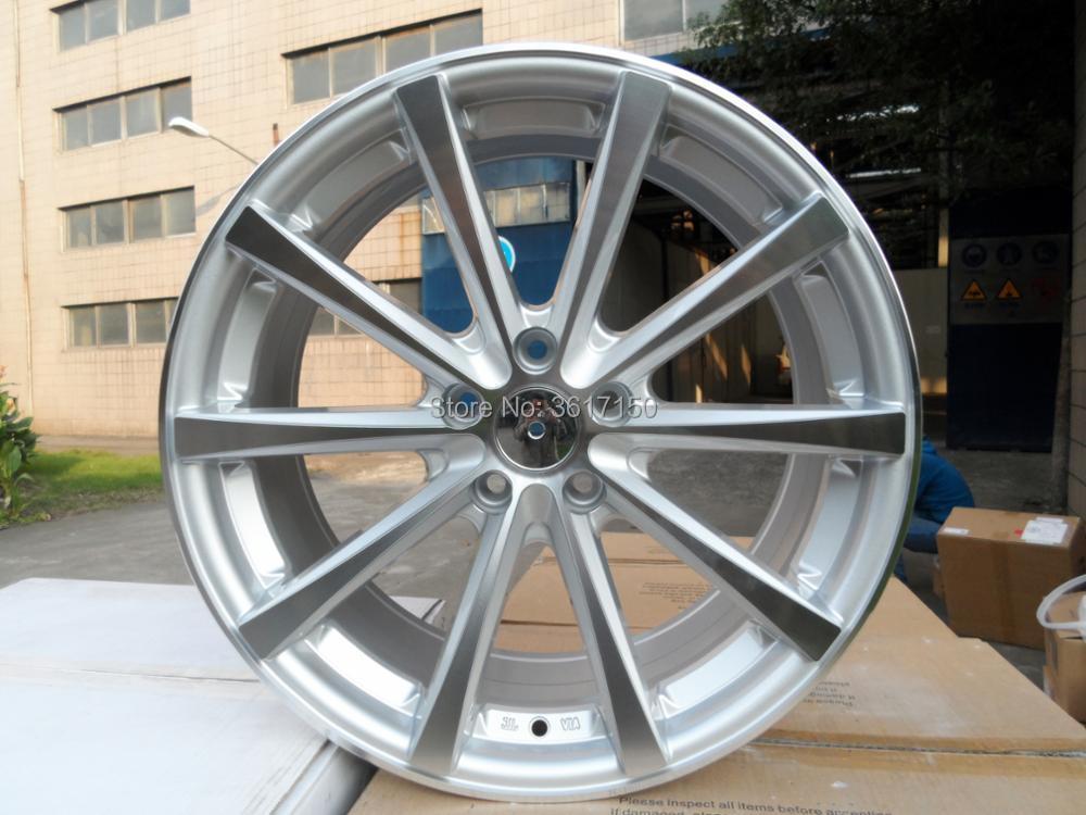 19x9. 5J 5x120 72,56 ET35 литые колесные диски с колпачками ступицы
