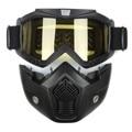 Patín del esquí de la motocicleta gafas gafas de motocross casco gafas gafas máscara a prueba de viento off road cascos de moto cross