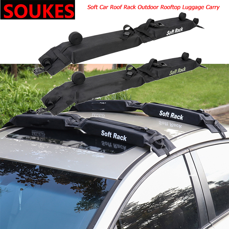 Soft General Car Roof Rack Transport large Goods For Opel Insigina Vectra Toyota Corolla RAV4 Avensis CHR Nissan Juke Suzuki image