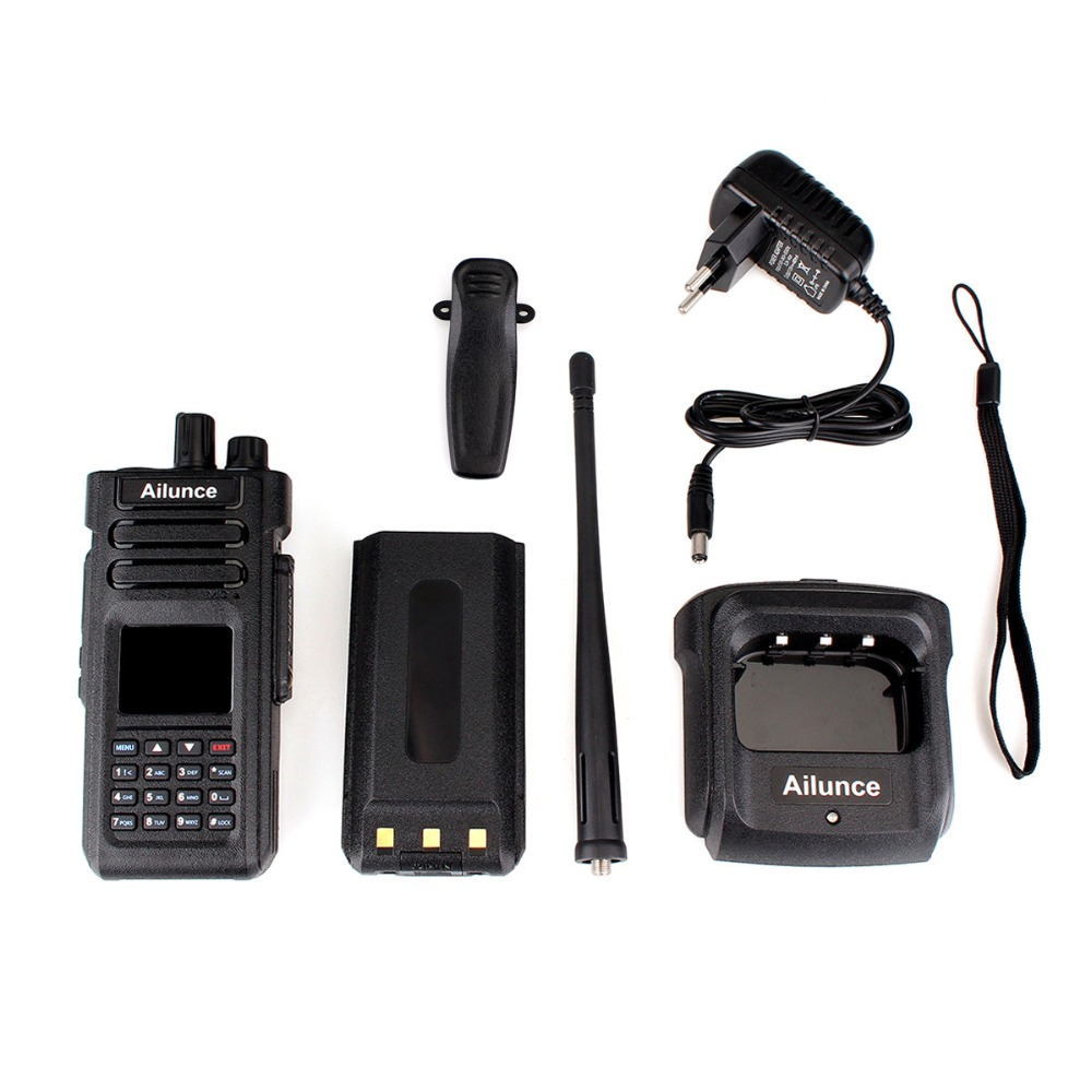 Image 5 - 2pcs Retevis Ailunce HD1 DMR Dual Band Digital Two Way Radio Walkie Talkie 10W IP67 GPS VHF UHF Ham Radio Amador Hf Transceiver-in Walkie Talkie from Cellphones & Telecommunications