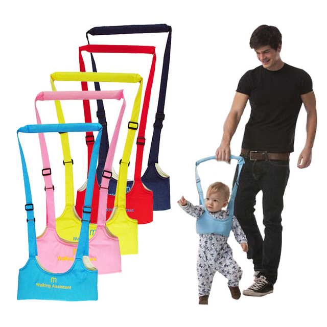 New Arrival Baby Walker, Baby Harness Baby Assistant Leash for Kids Learning Walk Baby Seat Belt