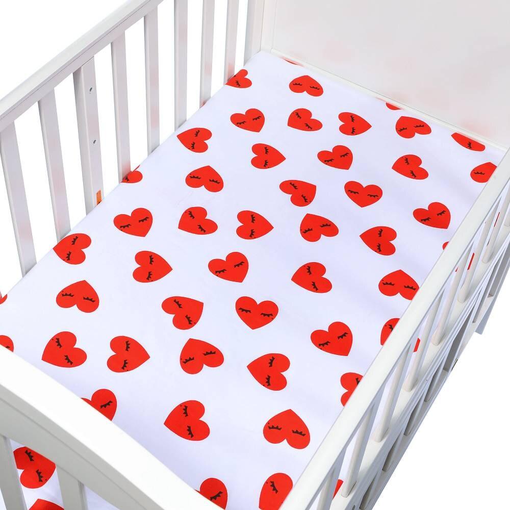 100% bawełna Dziecko prześcieradło Cartoon Crib Materac Protector - Pościel - Zdjęcie 5