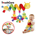 Plush Baby Toy Educational Newborn Mobile Baby Rattles Toys For Kids Colorful Caterpillar Baby Stroller Toys Hanging Hot Sale