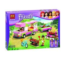 Bela 10168 Friends Series Adventure Camping Minifigure Building Block 314Pcs Bricks Toys Compatible with Legoe