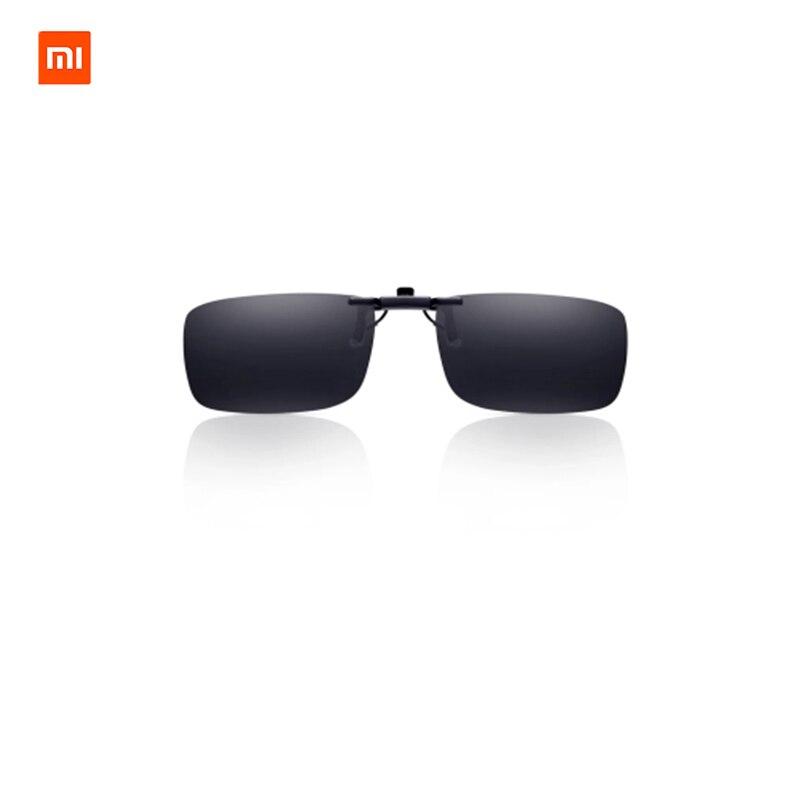 Xiaomi TS Clip en gafas de sol lentes polarizadas TAC de Zinc AlloyUVA/UVB protección 110 grados al azar repunte para miope multitud