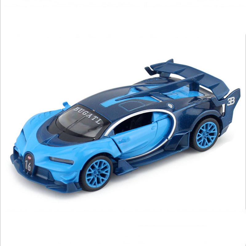 bugatti gt veyron 1 32 scale diecast car model 3 colors children gifts toys with sound and light. Black Bedroom Furniture Sets. Home Design Ideas