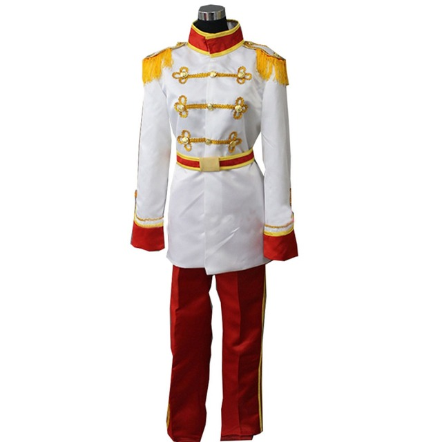 US $49 99 |2019 Grimm's Fairy Tales Snow White Prince charming Costume  Uniform Outfit Adult Men's Halloween Carnival Cosplay Costume-in Movie & TV