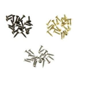 Image 1 - 2*8 мм 1000 шт./лот, серебристая, бронзовая, латунная, с винтовыми шипами, мини гвоздями, деревянная коробка с петлей, для ручной работы, для домашнего декора