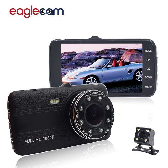 Online Shop Original 4.0 Inch IPS Screen 8 LED lights Car DVR camera ...