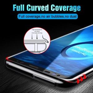 Image 4 - 99D زجاج مقسى منحني بالكامل لسامسونج جلاكسي S9 S8 بلاس نوت 8 9 واقي شاشة على S8 S9 S7 S6 Edge غشاء واقي