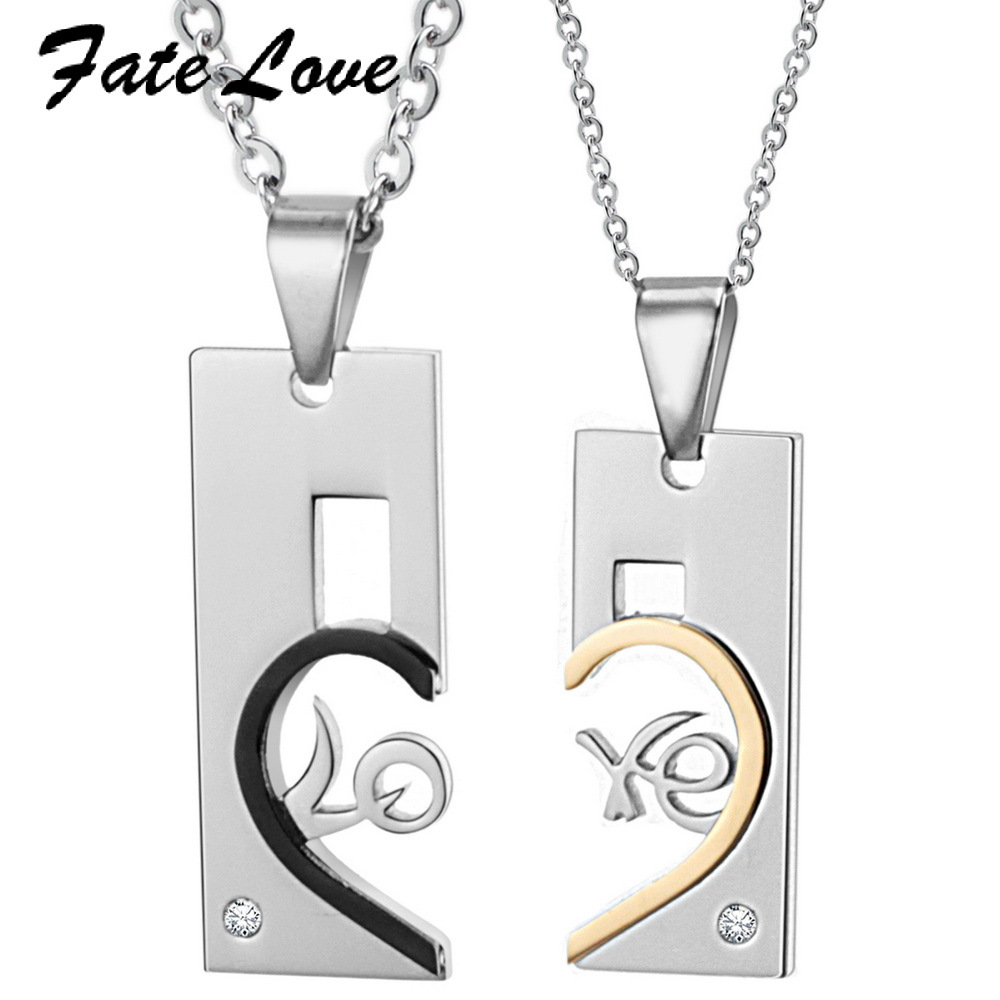 BEST SELLING COUPLES PENDANT NECKLACE Fine Jewelry Factory