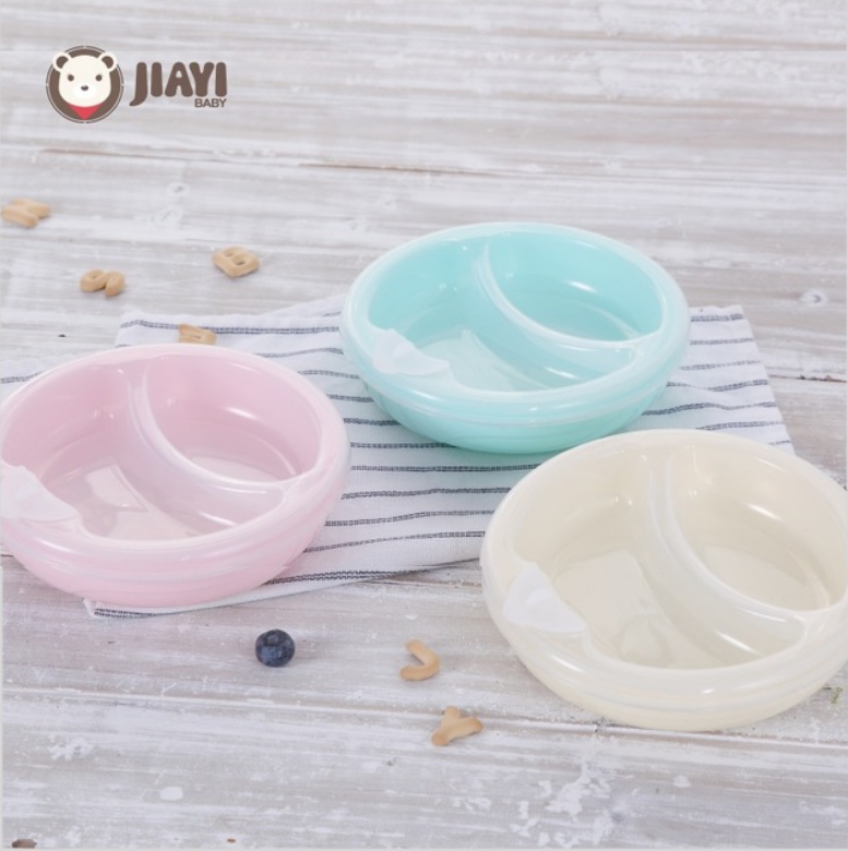 Non-slip Warming Plate Dish Bowl Baby Food Warm Container With Spoon Lid Feeding Insulation Cup Suction Plate Tools BPA Free