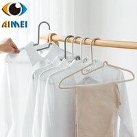 Household do not hurt the neckline racks plastic hanger clothes hanger adult hanger slip skidproof clothes hanger