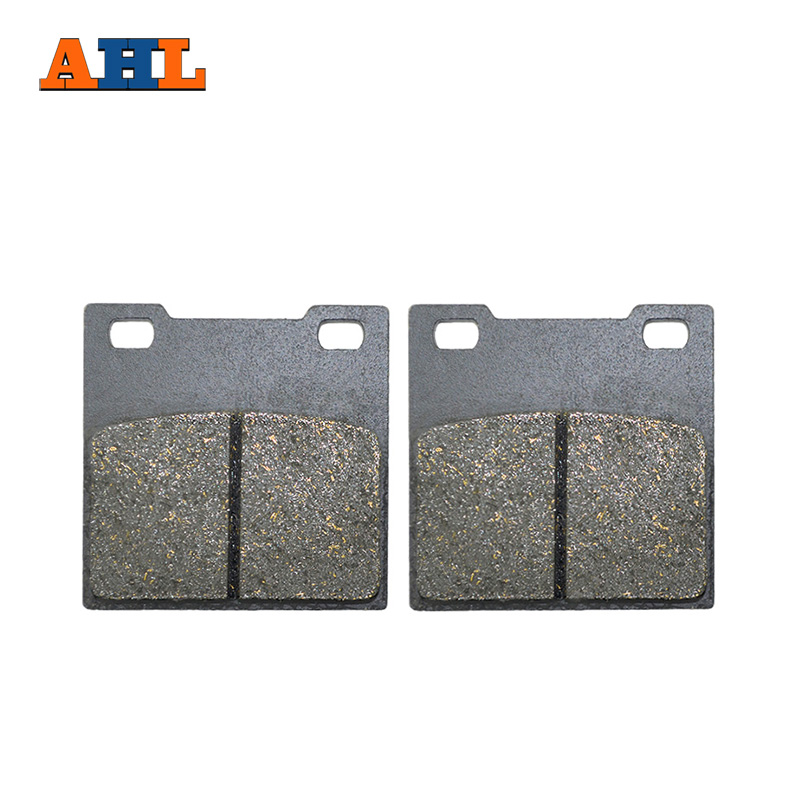 AHL Motorcycle Rear Brake Pads For Suzuki SV650 99-02 RG250 GSXR400 GSF400 GSX400 RF400 RG400 GS500 RG500 GSX550 GSF600 GSX600 for suzuki gsf600 gsf400 gsx600 rv600 sv650 dl650 katana black s motorcycle adjustable folding extendable brake clutch lever