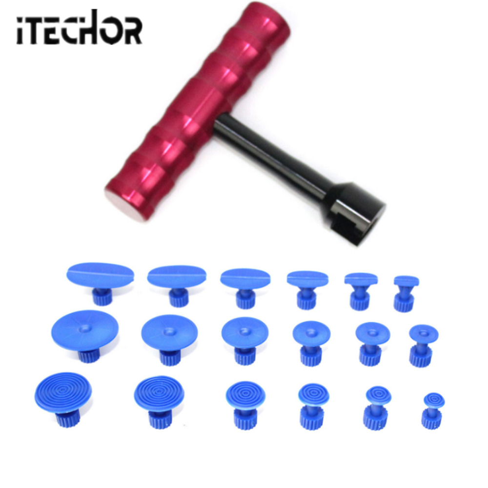 Hammer Itechor Set Of Tools Car Dent Repair Tool Set Indentation Repair Pen And Hammer Auto Body Repair Tools Dent Removal Tool Kit Hot