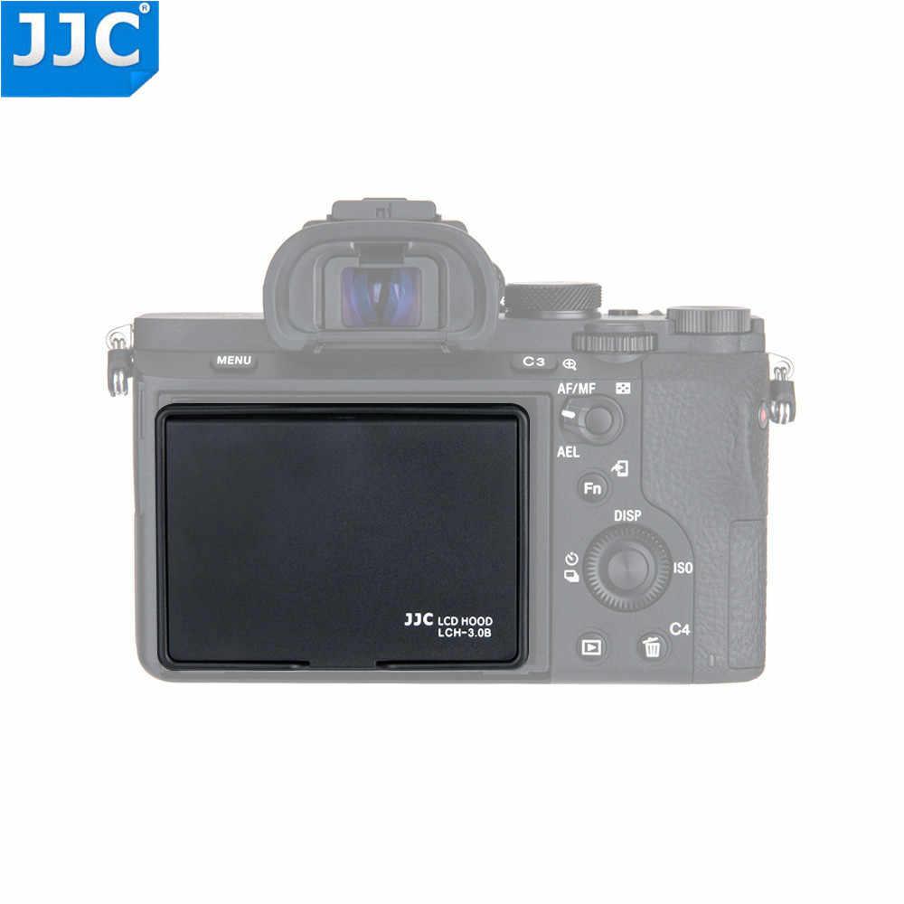 JJC Универсальный 3,0 дюймовый ЖК-экран защитный чехол для sony A7/A7II/Canon/Fujifilm DSLR камеры черный всплывающий чехол