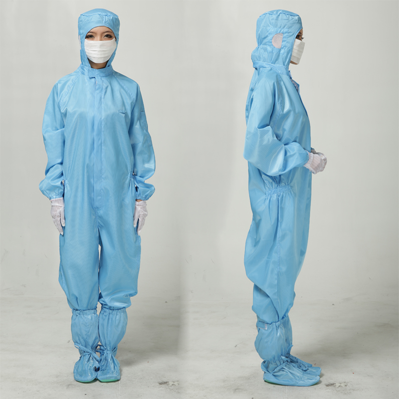 Anti static clothes and Cleanroom CoverAll Clothes working clothes ESD Coat Clothes Anti-static protective Dust proofclothing 3m 4515white non woven fabric coverall clothes anti static and anti chemical liquid splash and effective protection of particles