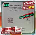 Оригинал для AMD Athlon II X3 445 3.1 ГГц Трехъядерные Socket AM3 Рабочего ПРОЦЕССОРА Процессор разбросанные куски quad-core processor