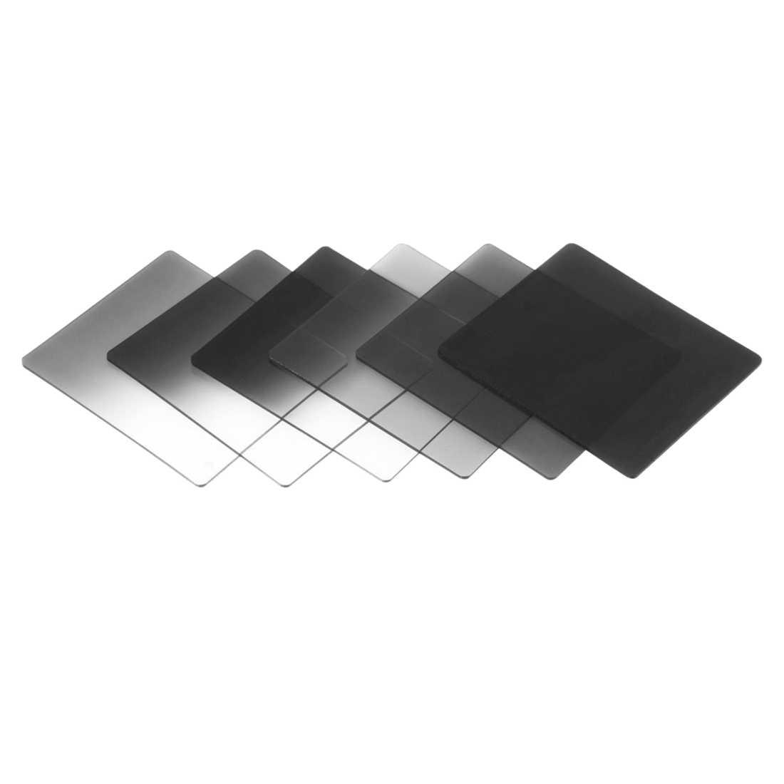 1 ชุดกรอง + แหวนอะแดปเตอร์สำหรับ Cokin P Series LF142, 6pcs ตัวกรอง ND + 6pcs Gradual ตัวกรองสี + 9pcs แหวนอะแดปเตอร์