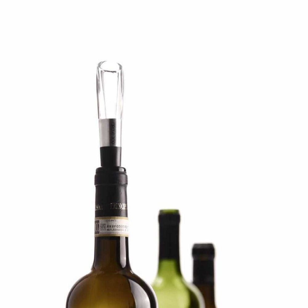 XIAOMI Mijia CIRCLE JOY Stainless Steel Fast Decanter Wine Decanter Suitable for A Variety of Wine Bottles 2
