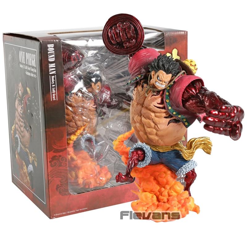 Banpresto One Piece Monkey D. Luffy Gear 4 Kong Gun PVC Figure Collectible Model Toy