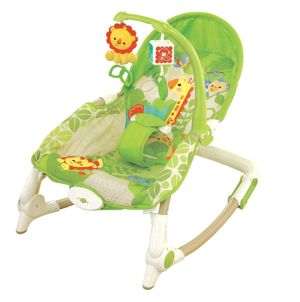 Us 355 37 Free Shipping Newborn To Toddler Rocker Musical Baby Rocking Chair Vibrating Baby Bouncer Chair Baby Swing In Bouncers Jumpers Swings